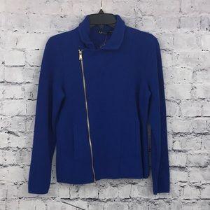 Ralph Lauren Knit Moto Jacket 01010